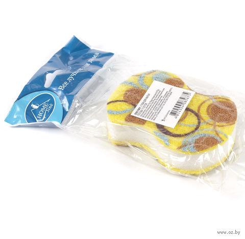 Губка для мытья посуды (11,5х8 см; арт. 5161-7401)