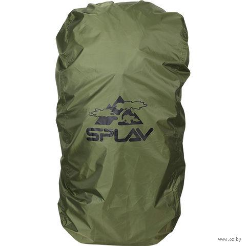 Накидка на рюкзак (45-60 л; оливковая) — фото, картинка