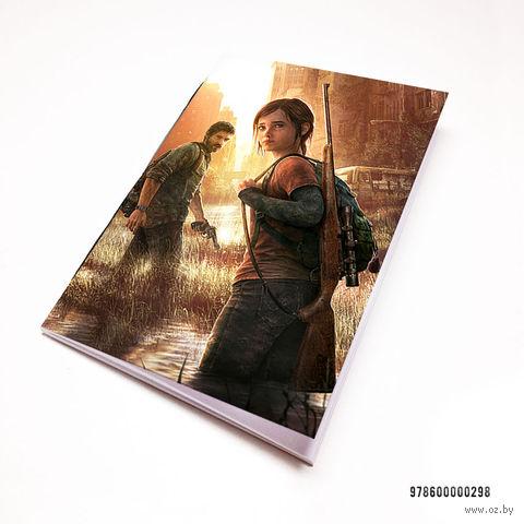"Блокнот белый ""The Last of Us"" А7 (298)"