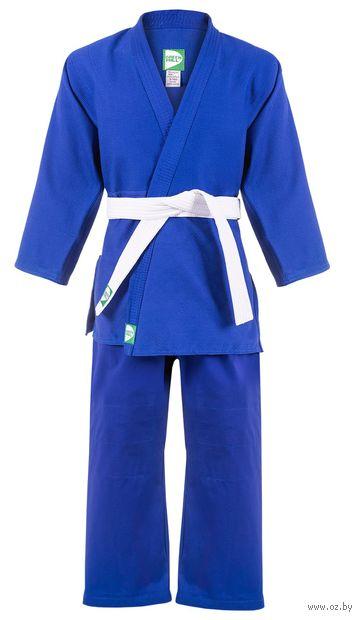 Кимоно для дзюдо MA-301 (р. 1/140; синее) — фото, картинка