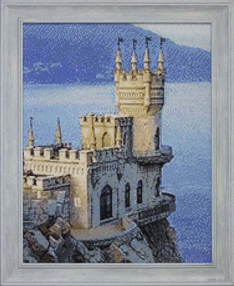 """Алмазная вышивка-мозаика """"Ласточкино гнездо"""" (380х480 мм) — фото, картинка"""