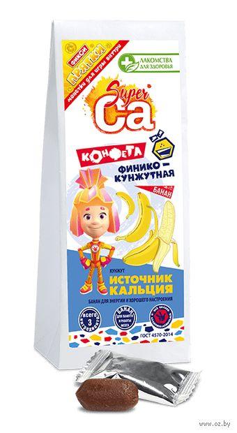 """Конфеты финико-кунжутные """"Super Ca. С бананом"""" (55 г) — фото, картинка"""