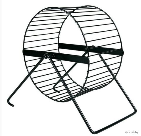 """Колесо для грызунов полузакрытое на подставке """"TRIXIE"""" (диаметр 12 см)"""