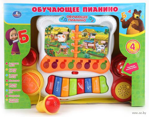 """Пианино """"Маша и Медведь"""" — фото, картинка"""