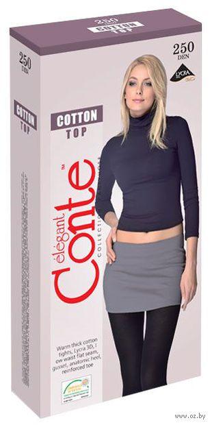 "Колготки женские теплые ""Conte. Cotton Top 250"""