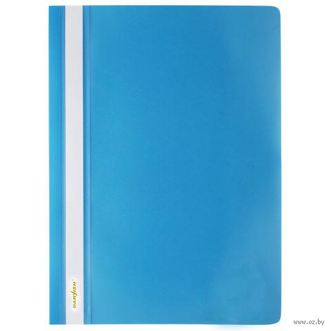 """Папка-скоросшиватель """"Darvish"""" (А4; голубая; арт. DV-200) — фото, картинка"""