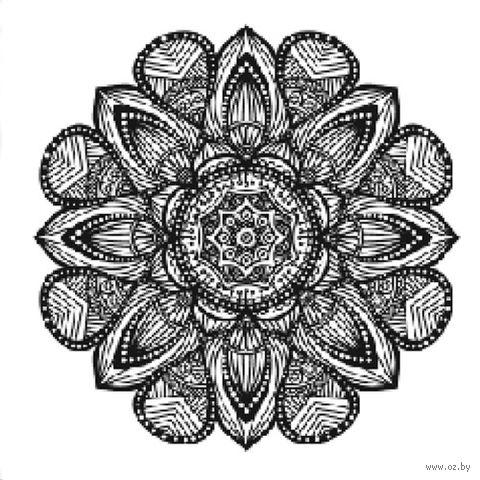 "Холст на подрамнике с эскизом ""Мандала"" (300х300 мм; арт. 1411164) — фото, картинка"