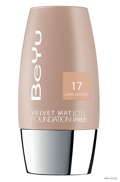 """Тональный крем для лица """"Velvet Mat Foundation"""" (тон: 17, bright sand) — фото, картинка"""