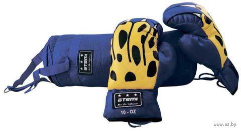 Набор боксёрский детский BS-6 (синий) — фото, картинка