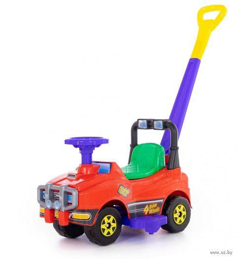 """Автомобиль-каталка """"Джип"""" (со звуковыми эффектами; арт. 62918) — фото, картинка"""