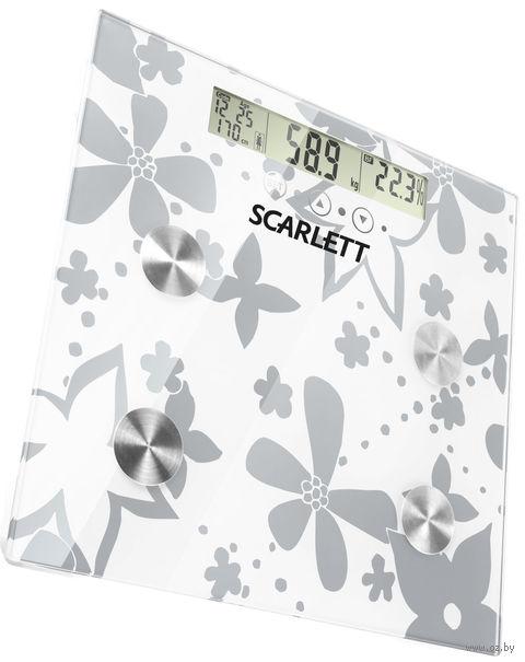 Весы напольные Scarlett SC216 (Silver)