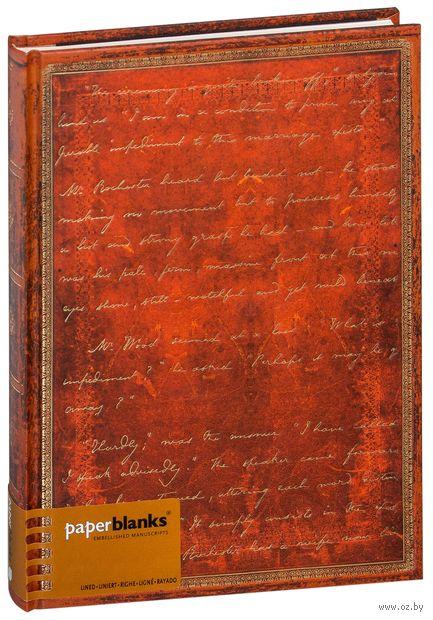 """Записная книжка Paperblanks """"Бронте. Джейн Эйр"""" в линейку (180х230 мм)"""