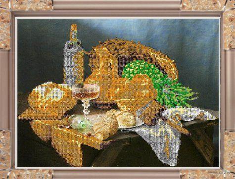 """Вышивка бисером """"Свежий хлеб"""" (арт. К-258)"""