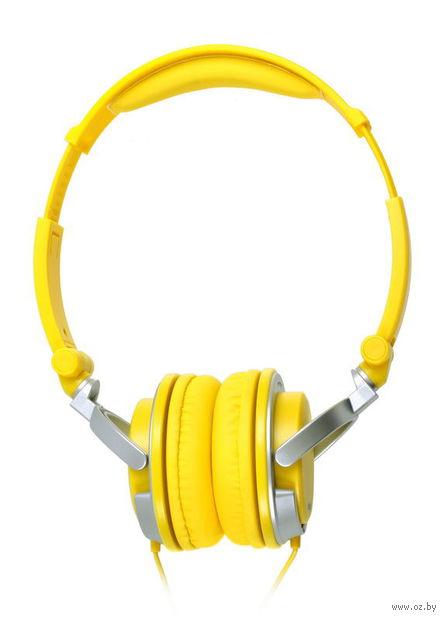 Наушники SmartBuy TOUR SBE-7610 (желтый/серый)