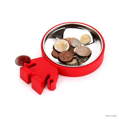 "Тарелка для монет ""Big Head"" (красная)"