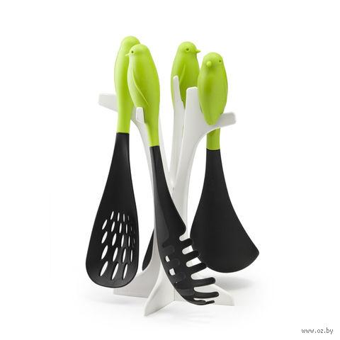 """Набор кухонных лопаточек """"Sparrow"""" (зеленый)"""
