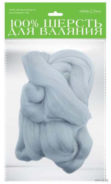 Шерсть для валяния (жемчужная; 50 г) — фото, картинка