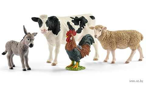 """Набор фигурок """"Животные фермы"""" (арт. 42385) — фото, картинка"""