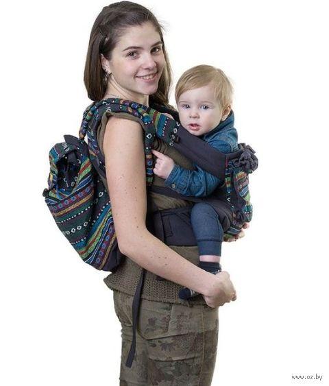 "Слинг-рюкзак ""Уичоли"" (темно-синий) — фото, картинка"