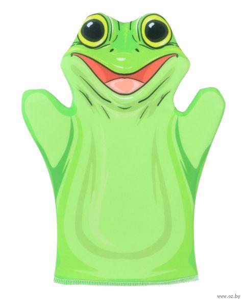 """Мягкая игрушка на руку """"Лягушка"""" (32 см) — фото, картинка"""