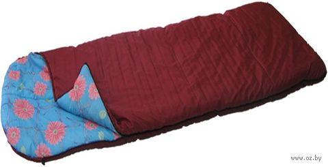 Спальник с подголовником 2-слойный, увеличенный СП-2У (ассорти)
