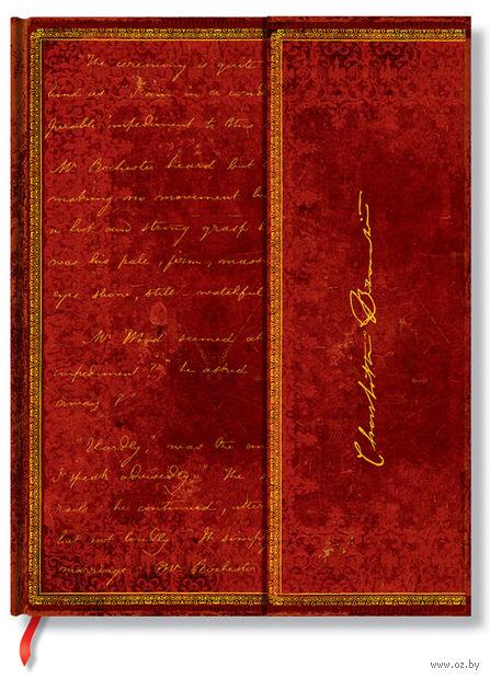 "Записная книжка Paperblanks ""Бронте. Джейн Эйр"" в линейку (формат: 180*230 мм, ультра)"