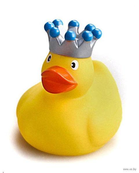 """Игрушка для купания """"Уточка в короне"""""""