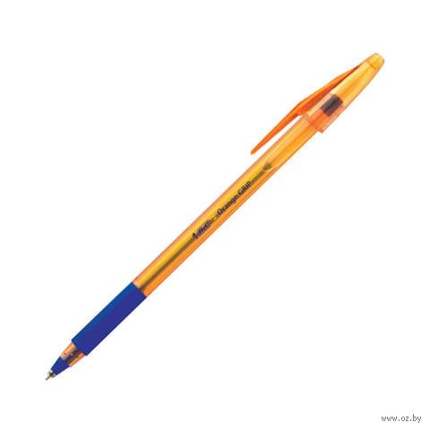 """Ручка шариковая синяя """"Orange Grip"""" (0,35 мм)"""