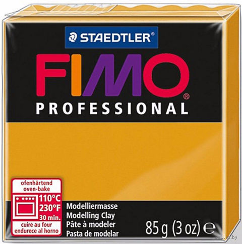 "Глина полимерная ""FIMO Professional"" (охра; 85 г) — фото, картинка"