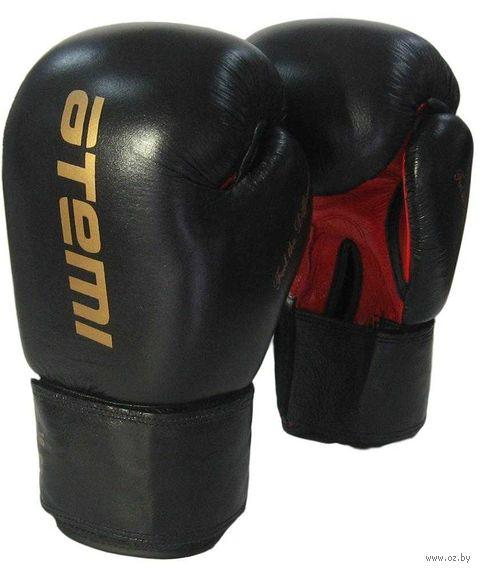 Перчатки боксёрские LTB19026 (8 унций; чёрно-красные) — фото, картинка