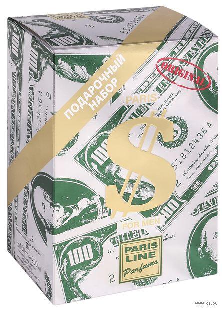 """Подарочный набор """"Dollar"""" (туалетная вода, пена для бритья) — фото, картинка"""