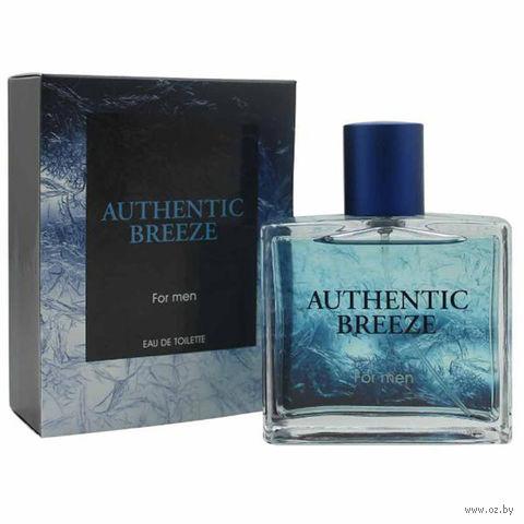 "Туалетная вода для мужчин Jeanne Arthes ""Authentic Breeze"" (100 мл) — фото, картинка"