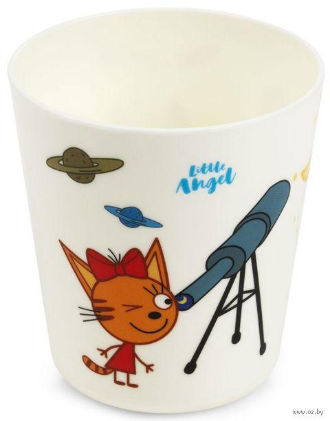 "Стакан ""Три кота. Космическое путешествие"" (арт. LA1211) — фото, картинка"