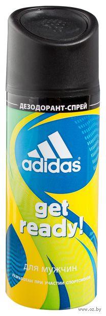 "Дезодорант парфюмерный для мужчин ""Get Ready"" (150 мл) — фото, картинка"