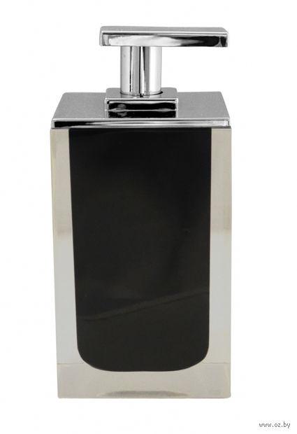 Дозатор для жидкого мыла (300 мл; черный) — фото, картинка