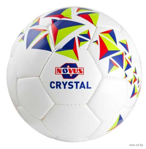 """Мяч футбольный Novus """"Crystal"""" №5 (бело-сине-красный) — фото, картинка"""