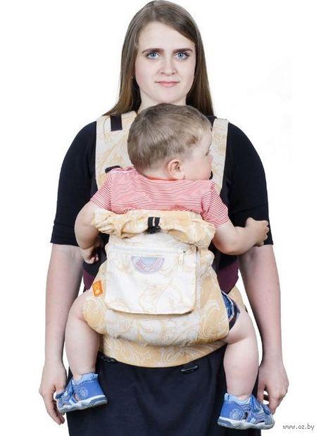 "Слинг-рюкзак ""Ренессанс"" (шафран) — фото, картинка"