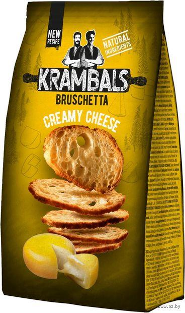 """Сухарики """"Krambals. Сливочный сыр"""" (70 г) — фото, картинка"""
