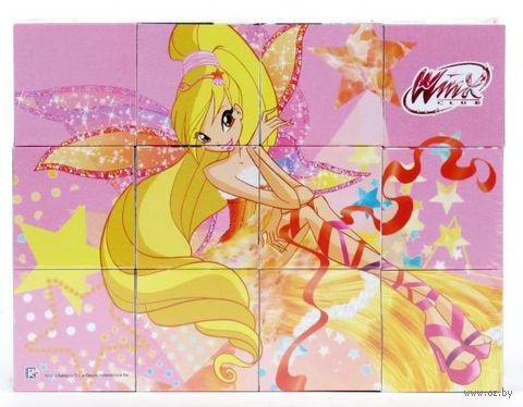 """Кубики """"Winx"""" (12 шт)"""