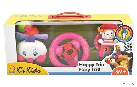 """Набор игрушек-подвесок """"Счастливое трио"""" — фото, картинка"""