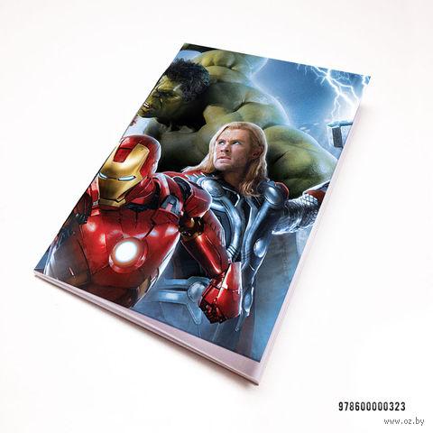"""Блокнот """"Мстители"""" (А7; арт. 323) — фото, картинка"""