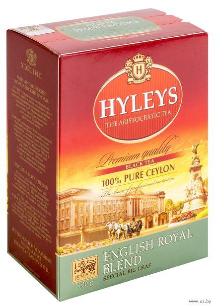 """Чай черный листовой """"Hyleys. Английский королевский купаж"""" (100 г) — фото, картинка"""