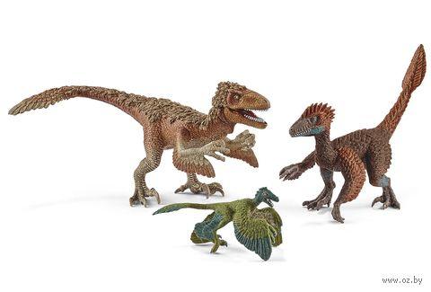 """Набор фигурок """"Пернатые динозавры-хищники"""" — фото, картинка"""