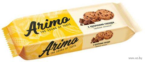 """Печенье сдобное """"Arimo. С кусочками глазури """" (200 г) — фото, картинка"""