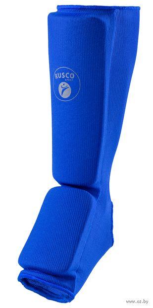 Защита голень-стопа (M; синяя) — фото, картинка