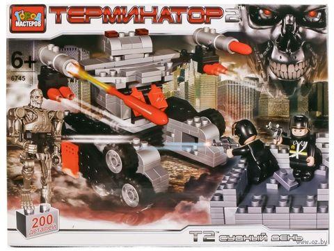 """Конструктор """"Терминатор. Стреляющий робот"""" (200 деталей) — фото, картинка"""