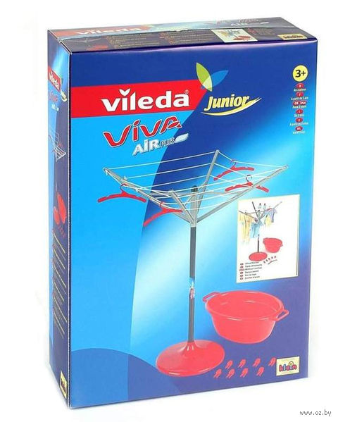"""Игровой набор """"Для стирки и сушки белья Vileda"""" — фото, картинка"""