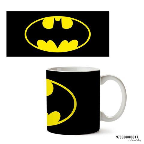 """Кружка """"Бэтмен из вселенной DC"""" (белая; арт. 047) — фото, картинка"""
