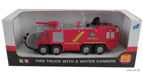 Пожарная машина (со световыми и звуковыми эффектами; арт. SY733)