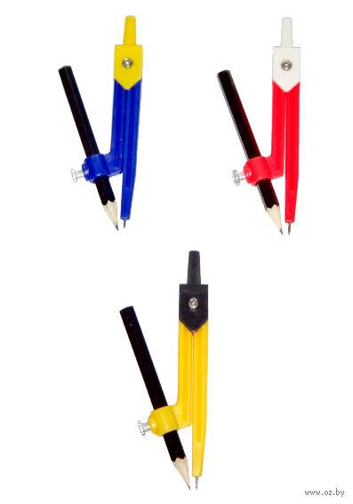 """Циркуль """"Козья ножка"""" с карандашом (арт. Ю-30244)"""